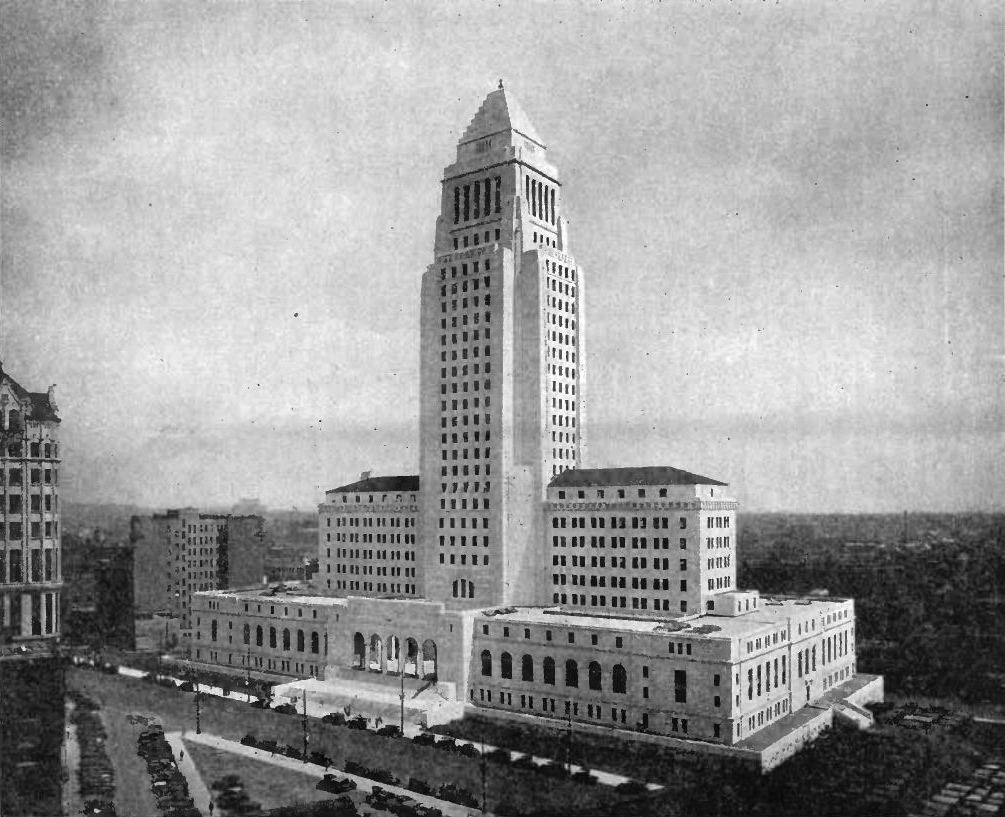 Los angeles city hall renovation murray company for Is la a city