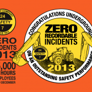Zero Recordable Incidents 2012-2013