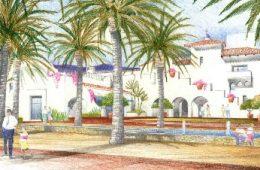 Entrada de Santa Barbara