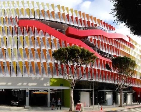 Santa Monica's Parking Structure 6